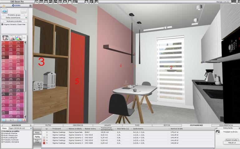 nowa baza produktowa sigma - moduł farb