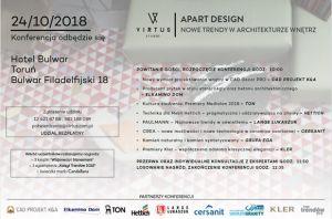 Apart Design Toruń 24.10.2018