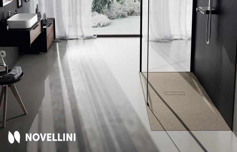 Novellini brodzik Custom Touch terra_2