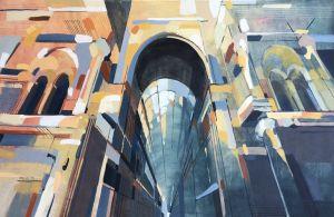 Mediolan-galeria 85x160cm 2019
