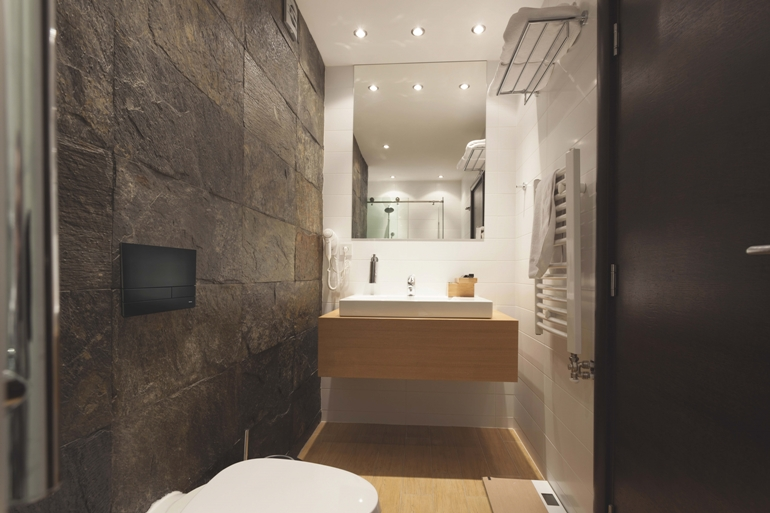 Łazienka czarny mat